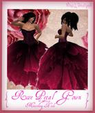 Rose Petal Gown~NixeL DesignS~