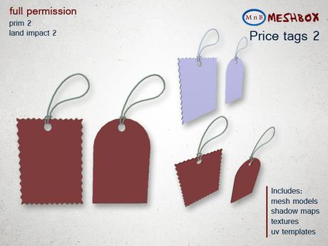 *M n B* Price tags 2 (meshbox)