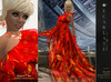 **Soldé/Sale Price** Ramalie - Red - Dress Gown Formal - Robe
