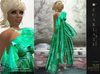 **Soldé/Sale Price** Ramalie - Green -  Dress Gown Formal - Robe