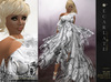 Soldé/Sale Price** Ramalie - White -  Dress Gown Formal - Robe