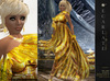 **Soldé/Sale Price** Ramalie - Yellow -  Dress Gown Formal - Robe