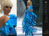 **Soldé/Sale Price** Ramalie - Blue -  Dress Gown Formal - Robe