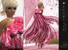 **Soldé/Sale price** Ramalie - Pink -  Dress Gown Formal - Robe
