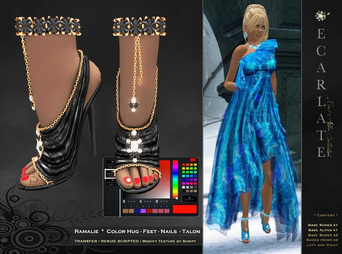 **Slodé/Sale Price** Ramalie - Elegant shoes / Chaussures elegantes