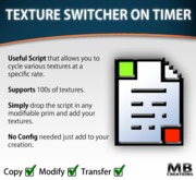 Texture Changer On Timer (full permission script)