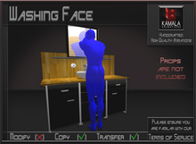 Bathroom *Washing Face* Animations for Builders