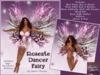 ROSEATE DANCER FAIRY w/Resizer & Flexi Wings