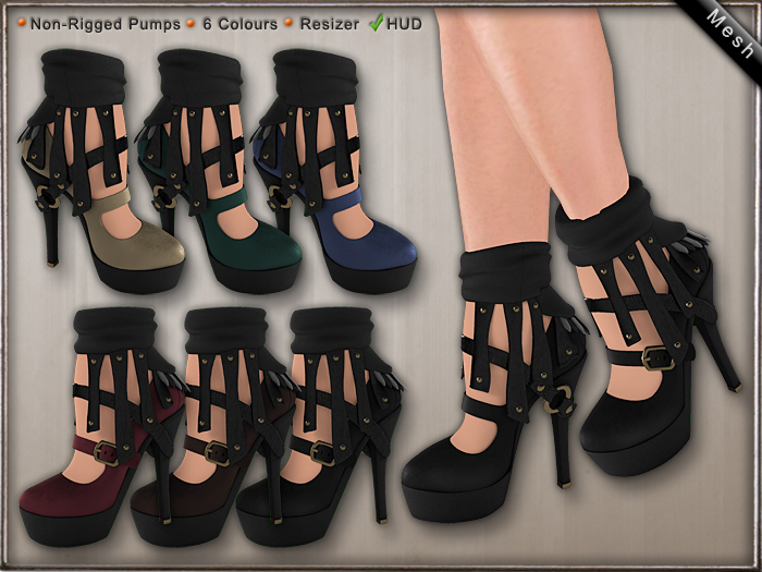 DN Mesh: Anne Pumps w HUD