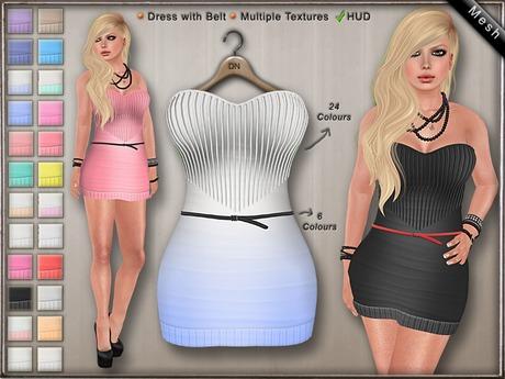 DN Mesh: Saar Dress w HUD