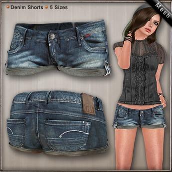 DN Mesh: Laura Shorts - Warm