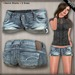 DN Mesh: Laura Shorts - Cool