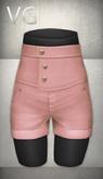 [VG] High Waist Shorts - Peach