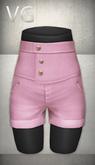 [VG] High Waist Shorts - Pink