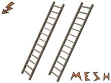 Wooden Mesh Ladder - 2 Texture variants