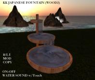 KK Japanese Fountain (Wood2) -MC