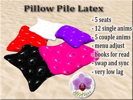Pillow Pile Latex