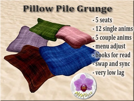 Pillow Pile Grunge