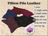 Pillow Pile Leather
