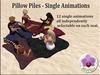 Pillow pile single animations