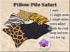 Pillow Pile Safari