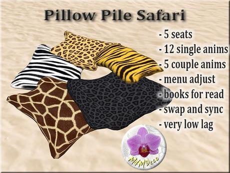 Pillow Pile Safari