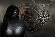 Baphomet Necklace -  Male