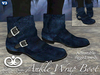 Ankle Wrap Boots For Men - Blue