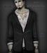 Corvus : Bloody Men's Jacket with Shirt