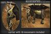 Golden Accessories Elephant *** Mesh***