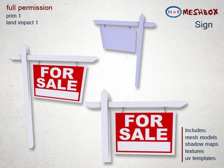 *M n B* Sign (meshbox)