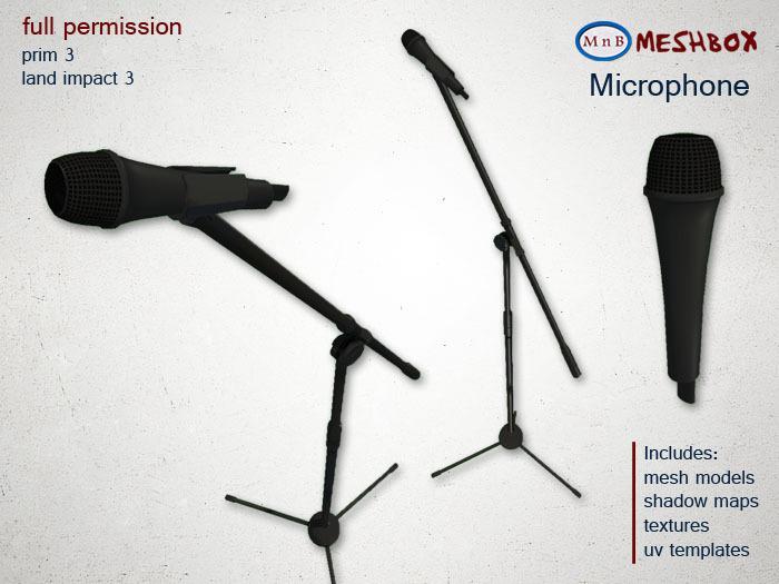 *M n B* Microphone (meshbox)