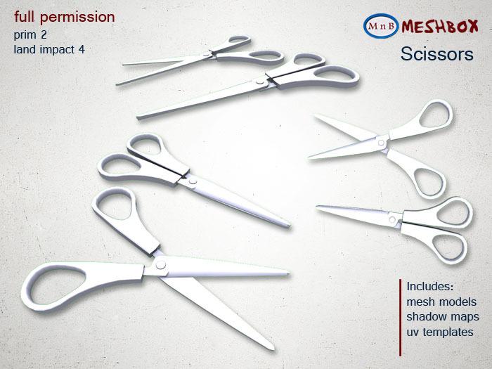 *M n B* Scissors (meshbox)