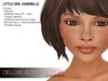 Child skin and shape - Little girl Gabriella, Deluxe Body Factory's collection for kids DEMO