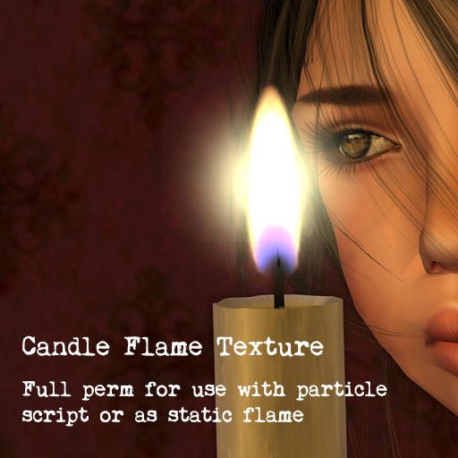 Candle Flame Texture