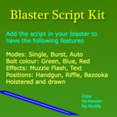 Blaster Script Kit