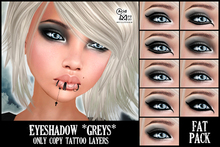 .:A&M:. Eyeshadow *Greys*