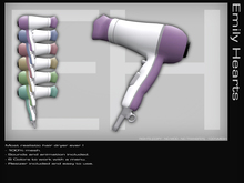 [EmilyHearts] - Hair Dryer 6 Colors