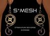 S*MESH - SteamPunk SeaHorse Earrings