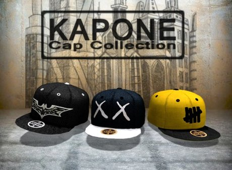 Kapone - Baseball fitted cap *pack* Promo