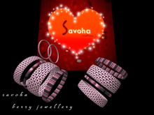 savoha berry jewelery set *SALE*