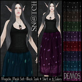 :::Sn@tch Mesh Magicks Dress-DEMOS:::