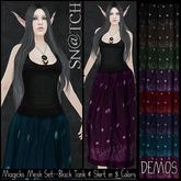 :::Sn@tch Mesh Magicks Dress-All Colors (Small):::