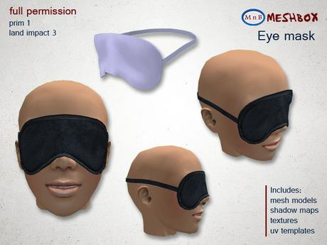 *M n B* Eye mask (meshbox)