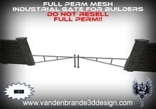 ~Full perm MESH industrial Gate for builders