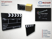 *M n B* Clapperboard (meshbox)