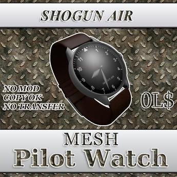 SHOGUN AIR PILOT WATCH box