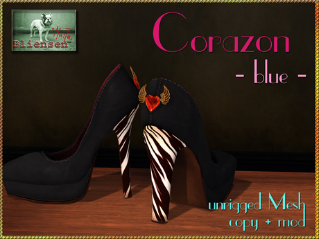 Bliensen + MaiTai - Corazon - Shoes - Black