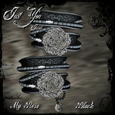 [LIMITED PRICE] *** Just You Jewels *** My Rose - Lace Black