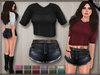 DN Mesh: Kasia Outfit w HUD